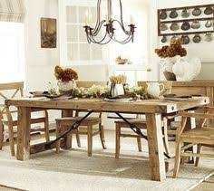 Pottery Barn Benchwright Table And Bench For The Kitchen