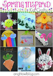 25 spring inspired kids crafts a night owl blog