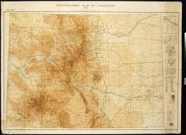 topographic map of colorado 1913