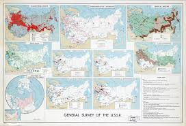 Ussr Map Large Scale General Survey Map Of The U S S R 1961 U S S R
