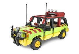 jurassic park jeep instructions ideas ucs jurassic park explorer