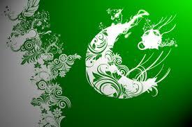 Pakistane Flag Pakistan Flag Floral Abstract By Tecartist On Deviantart