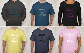 best color combos how to pick the best ink colors for your t shirt design