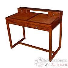 dessus de bureau bureau strié dessus amovible avec 4 tiroirs meuble d indonésie 53991