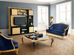 capri gold and dark blue living room jetclass real furniture