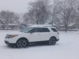 Ford Explorer 2013 - 2013 ford explorer in chicago snow unrated flair