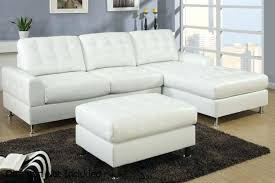 Leather Tufted Sectional Sofa Chaise Astonishing Tufted Leather Chaise Galleries Tufted Chaise