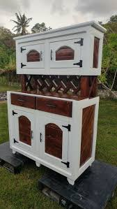 recycled wood pallets made hutch pallet wood projects