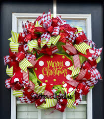 merry wreath and green wreath southern