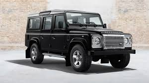 dark silver range rover land rover defender says goodbye to the final last 3 editions for
