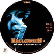 halloween vi the curse of michael myers dvd label 1995 r1 custom