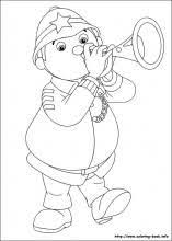 47 noddy colouring pages images drawings