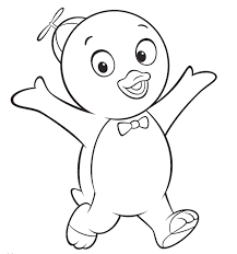 pablo backyardigans coloring pages printable backyardigans