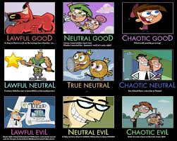 Fairly Odd Parents Meme - fairly odd parents alignment chart by chaoticlawful on deviantart