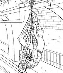 print u0026 download spiderman coloring pages games free