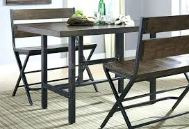 counter height dining table with bench small dining table set with bench dining sets with storage kitchen