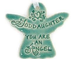 goddaughter christmas ornaments gift for goddaughter etsy