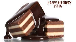 delia chocolate happy birthday youtube