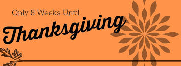 8 weeks until thanksgiving happy healthy