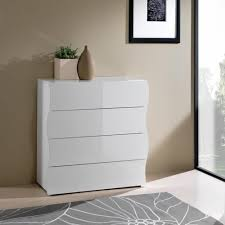 commode chambre blanc laqué commode chambre coucher laque blanc wolfpks