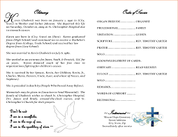 funeral obituary templates funeral mass program templates franklinfire co