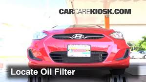 how many quarts of does a hyundai accent take filter change hyundai accent 2012 2016 2013 hyundai