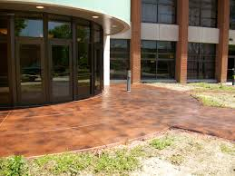 stained concrete columbus ohio redeck of central ohio