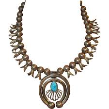 turquoise necklace silver chain images Best 25 squash blossom necklace ideas squash jpg