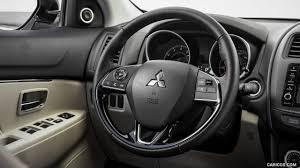 mitsubishi outlander sport 2016 black 2016 mitsubishi outlander sport sel interior steering wheel