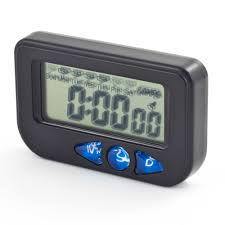 pitking multi function digital clock stopwatch rally race ebay