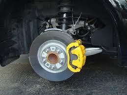 painting brake calipers brilliant black car color