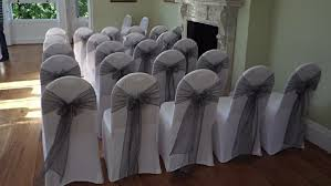 silver chair sashes sashes hire london