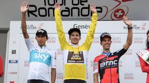 seconds of summer a team mp primoz roglic wins tour de romandie with egan bernal second for team