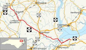 Duck Migration Map North Carolina Highway 308 Wikipedia