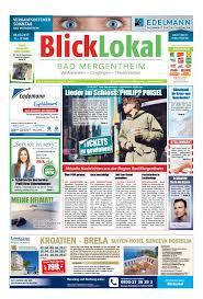 Dr Weber Bad Mergentheim Blicklokal Bad Mergentheim Kw09 2017 By Blicklokal Wochenzeitung