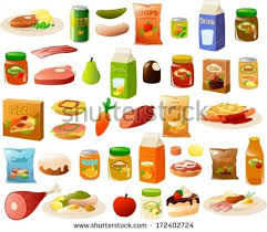 vector illustration set various stereotypical german stock vector