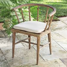 dexter outdoor dining chair cushion west elm