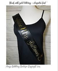 custom sash personalized satin sash for baby shower birthday