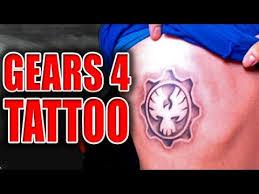 gears 4 tattoo gears u0026 beers gears of war 2 youtube