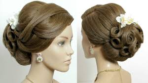 prom hairstyles for medium hair bridal updo wedding prom hairstyles tutorial for long hair