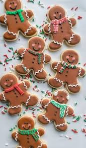 Christmas Cookie Decorating Kit This Hanging Gingerbread Cookie Recipe Is A Unique Spin On The