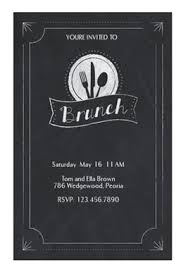 lunch invitation chalkboard brunch free brunch lunch invitation template