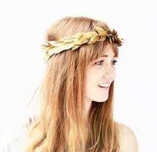 hippie hair accessories hair accessory gold crown hair band headband leaf headband