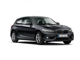 black bmw 1 series bmw 1 series 3 door 116d se nav servotronic car leasing