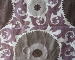 Home Decor Designer Fabric by Purple Suzani Home Decor Fabric 60 Inches Designer Fabric