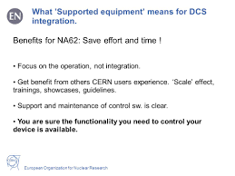 operation organization european organization for nuclear research dcs remote control in