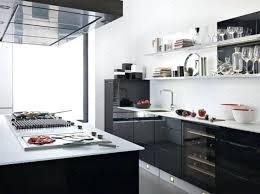 deco cuisine et blanc decoration noir et blanc finest salon design noir et blanc with