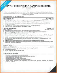 hvac installer resume 17413