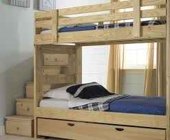 Bunk Bed With Trundle And Drawers Custom Bunk Beds Bunk Bed With Stairs And Drawers
