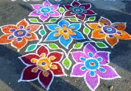10 wonderful freehand rangoli designs for diwali